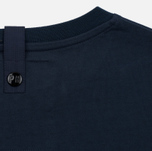 Мужская толстовка Peaceful Hooligan Light Zipped Nylon Ripstop Pocket Navy фото- 5