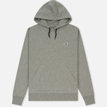 Мужская толстовка Peaceful Hooligan O H Hoodie Marl Grey фото- 0