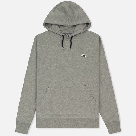 Мужская толстовка Peaceful Hooligan O H Hoodie Marl Grey