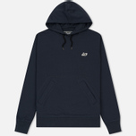 Мужская толстовка Peaceful Hooligan O H Hoodie Navy фото- 0