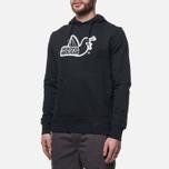 Мужская толстовка Peaceful Hooligan Outline Dove Hoodie Black фото- 2