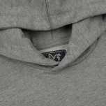 Мужская толстовка Peaceful Hooligan Outline Dove Hoodie Marl Grey фото- 1