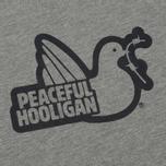 Мужская толстовка Peaceful Hooligan Outline Dove Hoodie Marl Grey фото- 2