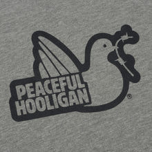 Мужская толстовка Peaceful Hooligan Outline Dove Hoodie Marl Grey фото- 2