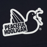 Мужская толстовка Peaceful Hooligan Outline Dove Hoodie Navy фото- 2