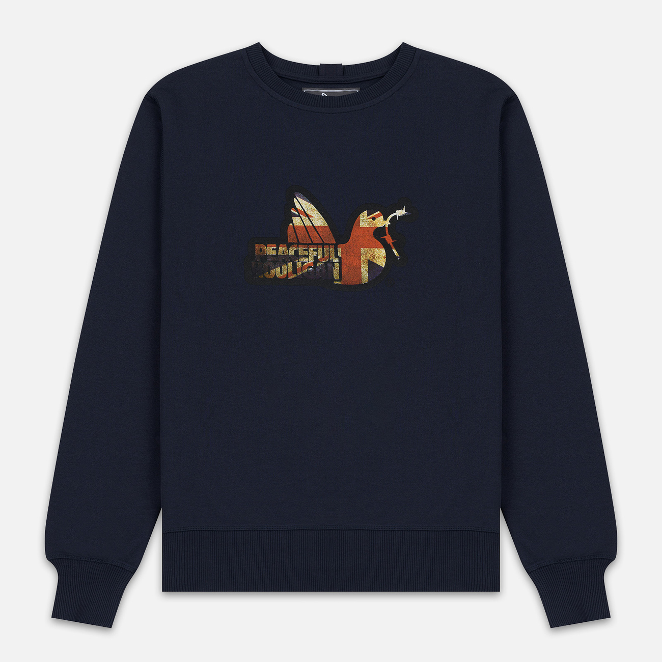 Мужская толстовка Peaceful Hooligan Union Dove Crew Neck Navy