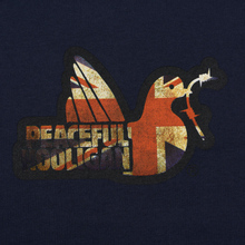 Мужская толстовка Peaceful Hooligan Union Dove Crew Neck Navy фото- 2