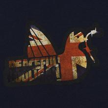 Мужская толстовка Peaceful Hooligan Union Dove Hoodie Navy фото- 2