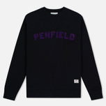 Мужская толстовка Penfield Brookport Black/Purple фото- 0