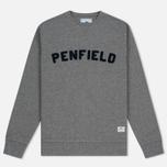 Мужская толстовка Penfield Brookport Grey/Black фото- 0