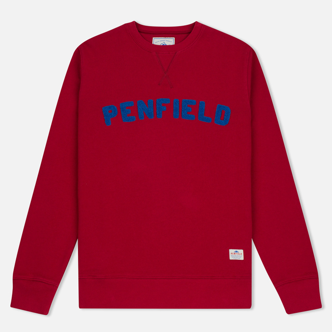 Мужская толстовка Penfield Brookport Red/Blue