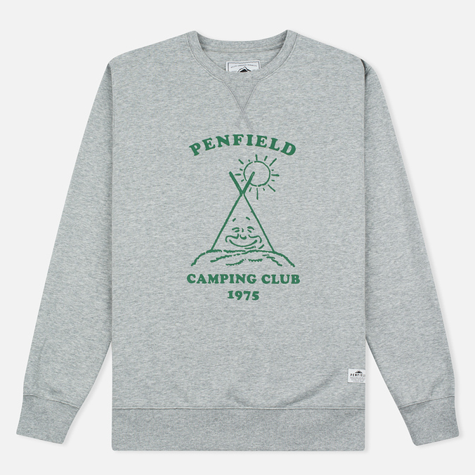 Penfield Camping Club Men`s Sweatshirt Grey