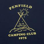 Мужская толстовка Penfield Camping Club Navy фото- 2