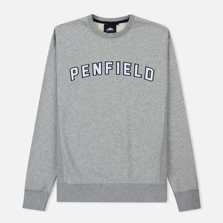 Мужская толстовка Penfield Casseus Applique Logo Grey