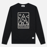 Penfield Peaks Men`s Sweatshirt Black photo- 0