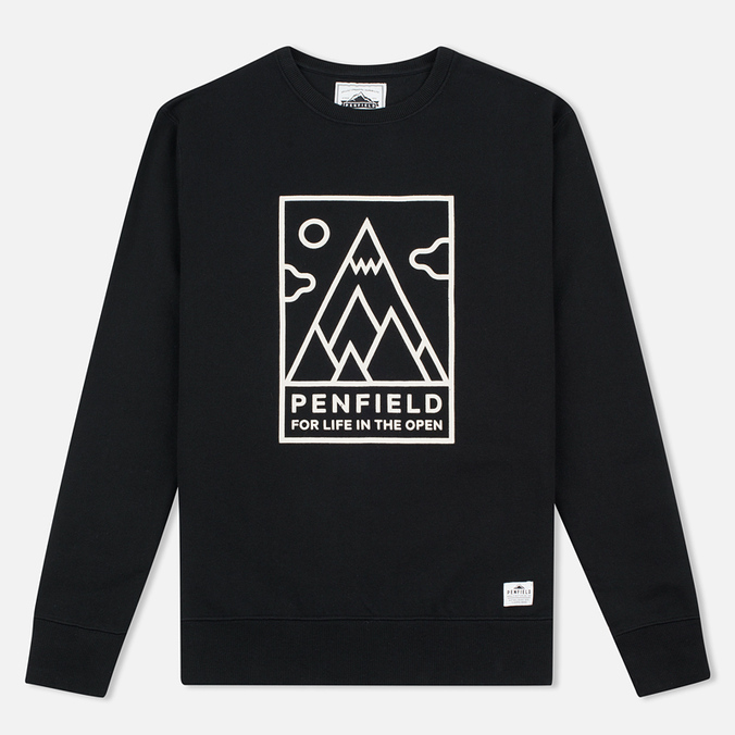 Penfield Peaks Men`s Sweatshirt Black