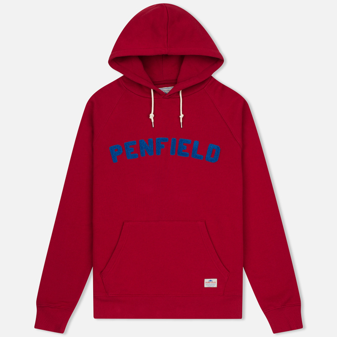 Мужская толстовка Penfield Starkville Hoody Red/Blue