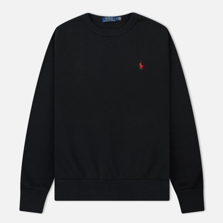 Мужская толстовка Polo Ralph Lauren Classic Crew Neck Magic Fleece Black