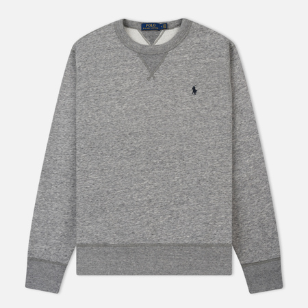 Мужская толстовка Polo Ralph Lauren Classic Crew Neck Magic Fleece Dark Vintage Heather