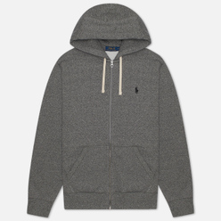 Мужская толстовка Polo Ralph Lauren Classic Full Zip Hoodie Fleece Alaskan Heather
