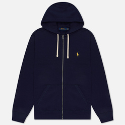 Мужская толстовка Polo Ralph Lauren Classic Full Zip Hoodie Fleece Cruise Navy