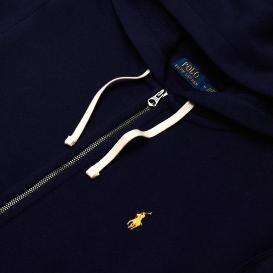 Мужская толстовка Polo Ralph Lauren Classic Full Zip Hoodie Fleece Cruise Navy