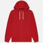 Мужская толстовка Polo Ralph Lauren Classic Full Zip Hoodie Fleece Red фото - 0