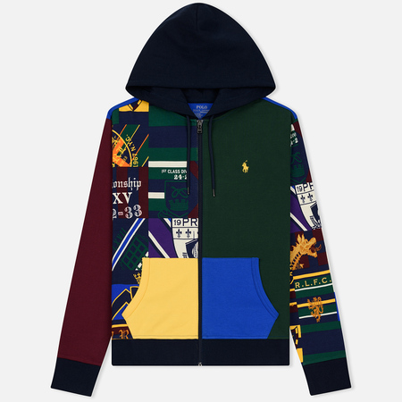 Мужская толстовка Polo Ralph Lauren Collegiate Patch Work Hoodie Multicolor
