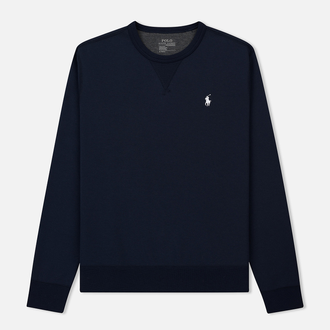 Мужская толстовка Polo Ralph Lauren Crew Neck Double Tech Aviator Navy