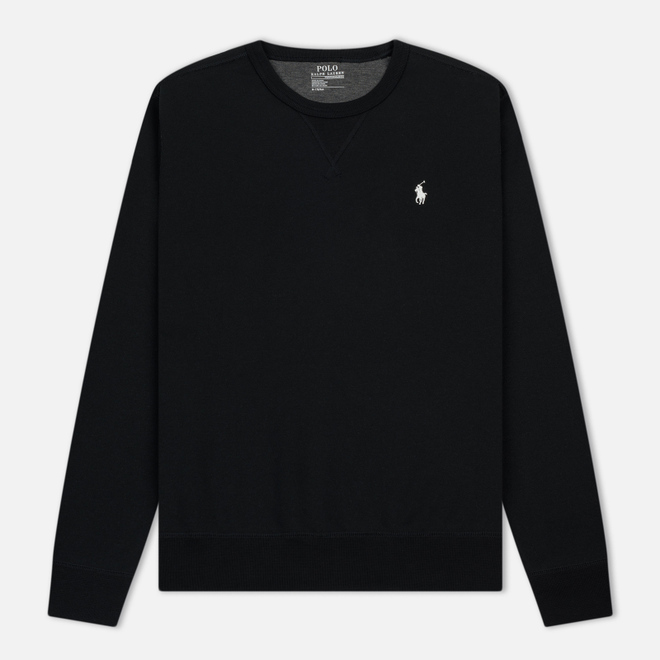 Мужская толстовка Polo Ralph Lauren Crew Neck Double Tech Black/Cream
