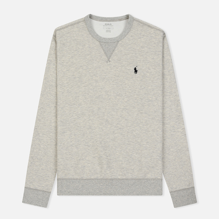 Мужская толстовка Polo Ralph Lauren Crew Neck Double Tech Light Sport Heather/Polo Black