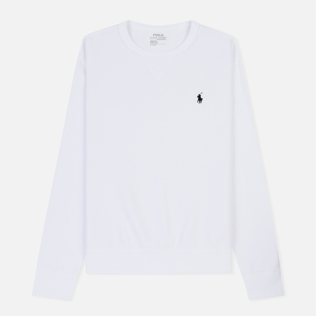 Мужская толстовка Polo Ralph Lauren Crew Neck Double Tech White
