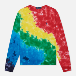 Мужская толстовка Polo Ralph Lauren Crew Neck Terry Tie Dye Multicolor