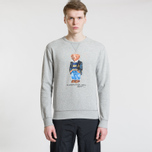 Мужская толстовка Polo Ralph Lauren Different Print Big Bear Andover Heather фото- 1