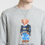 Мужская толстовка Polo Ralph Lauren Different Print Big Bear Andover Heather фото- 2