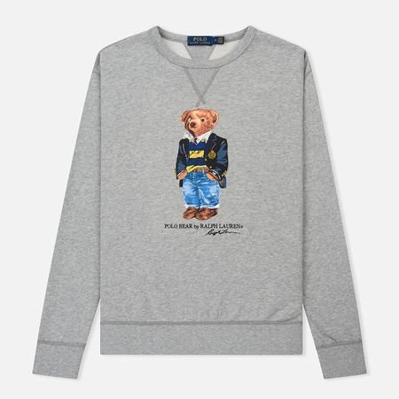Мужская толстовка Polo Ralph Lauren Different Print Big Bear Andover Heather