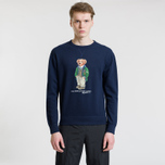 Мужская толстовка Polo Ralph Lauren Different Print Big Bear Cruise Navy фото- 1