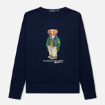 Мужская толстовка Polo Ralph Lauren Different Print Big Bear Cruise Navy фото- 0