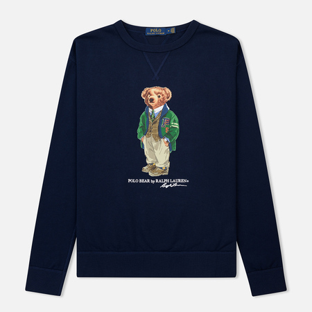 Мужская толстовка Polo Ralph Lauren Different Print Big Bear Cruise Navy