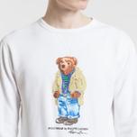 Мужская толстовка Polo Ralph Lauren Different Print Big Bear White фото- 2