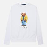 Мужская толстовка Polo Ralph Lauren Different Print Big Bear White фото- 0