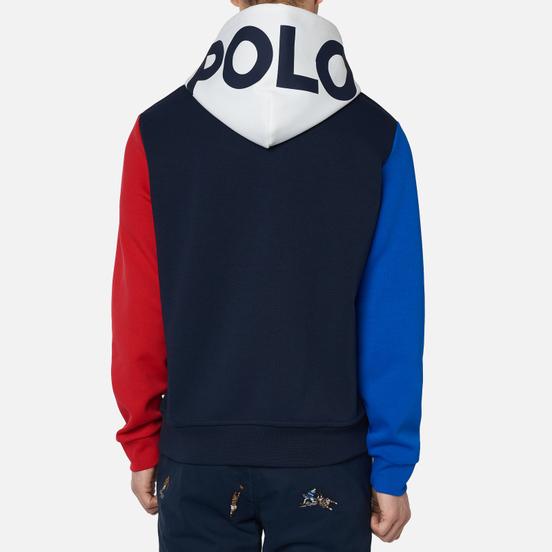 Мужская толстовка Polo Ralph Lauren Double Knit Tech Hoodie Aviator Navy/Multicolor