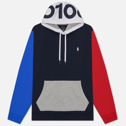 Мужская толстовка Polo Ralph Lauren Double Knit Tech Hoodie Aviator Navy/Multicolor