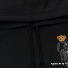 Мужская толстовка Polo Ralph Lauren Embroidered Bear Magic Fleece Hoodie Black фото- 1