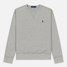 Мужская толстовка Polo Ralph Lauren Embroidered Pony Fleece Crew Neck Andover Heather фото- 0
