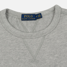 Мужская толстовка Polo Ralph Lauren Embroidered Pony Fleece Crew Neck Andover Heather фото- 1