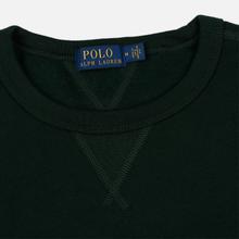 Мужская толстовка Polo Ralph Lauren Embroidered Pony Fleece Crew Neck College Green фото- 1