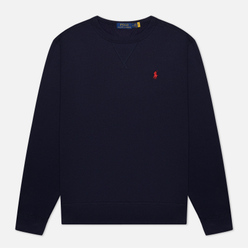 Мужская толстовка Polo Ralph Lauren Embroidered Pony Fleece Crew Neck Cruise Navy