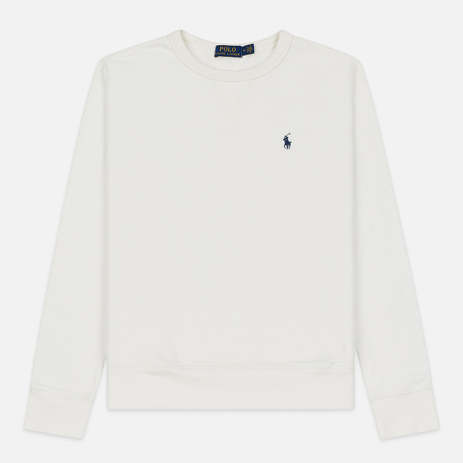 Мужская толстовка Polo Ralph Lauren Embroidered Pony Fleece Crew Neck Nevis