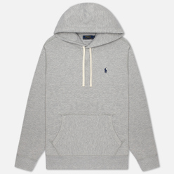Мужская толстовка Polo Ralph Lauren Embroidered Pony Fleece Hoodie Andover Heather